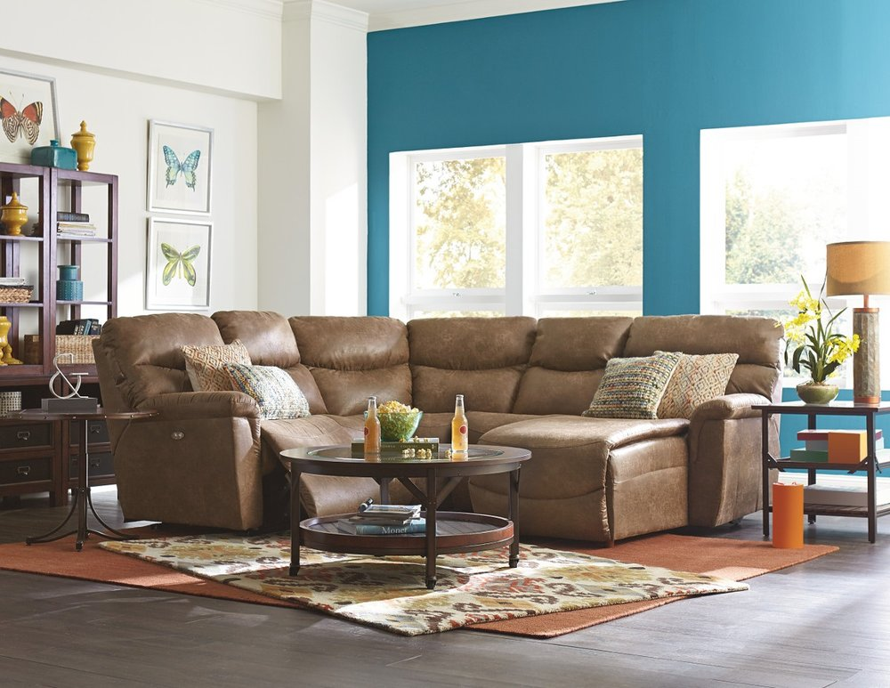 Special Sale Pricing! La-Z-Boy James $1109.99 Reclining Sofa $1,029.99 Reclining Loveseat Click for Other Pricing