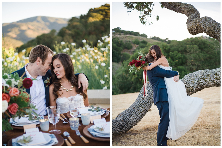 Holman ranch wedding photographers