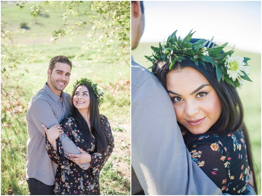 Coto De Caza Bohemian Engagement Session Free People Dress