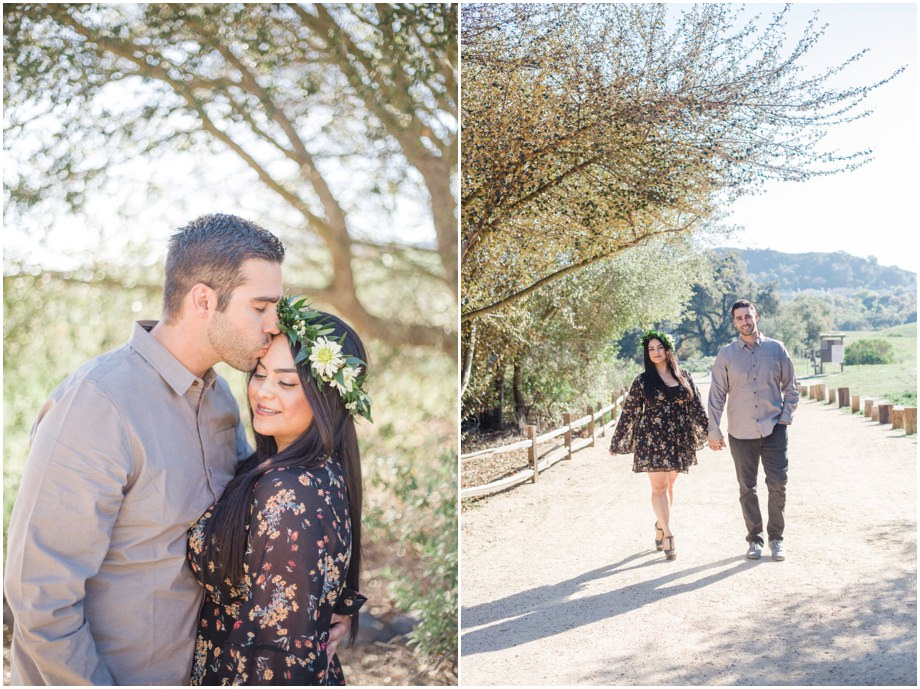 Bohemian Free People Coto De Caza Engagement Photographer