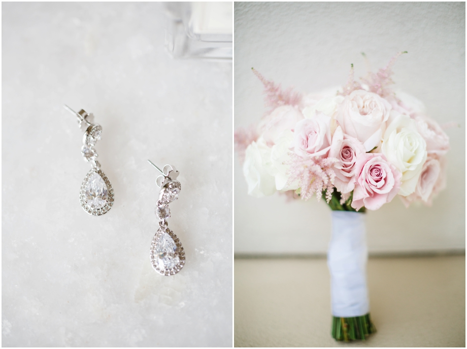 St. Regis Monarch Beach Wedding Photography - Blush Bouquet