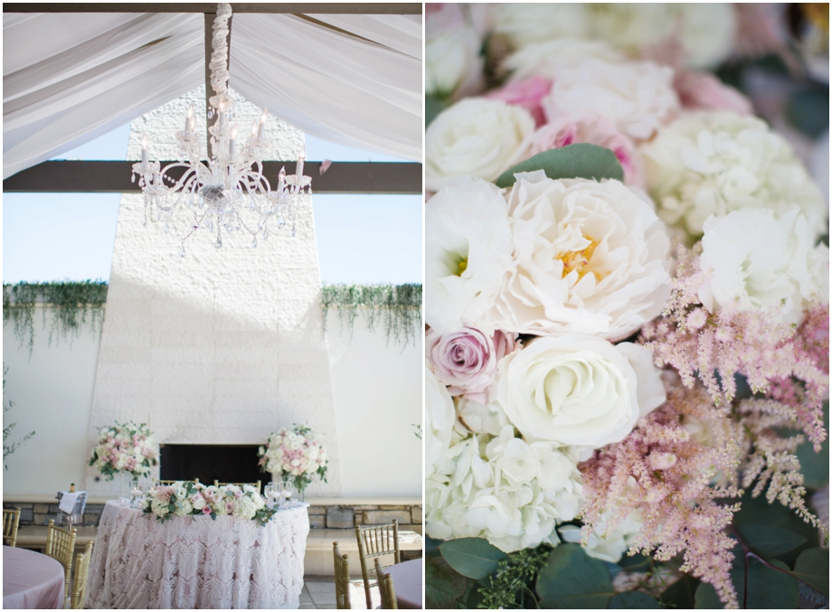 Club 19 Monarch Beach Wedding - Blush & Chandeliers