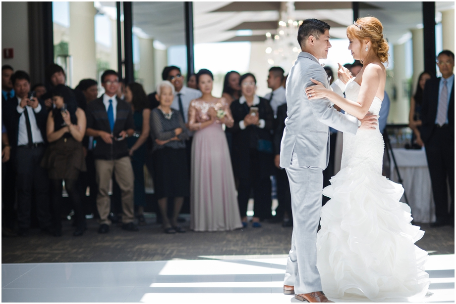 Orange County Wedding Photography - Choreographed tango first dance