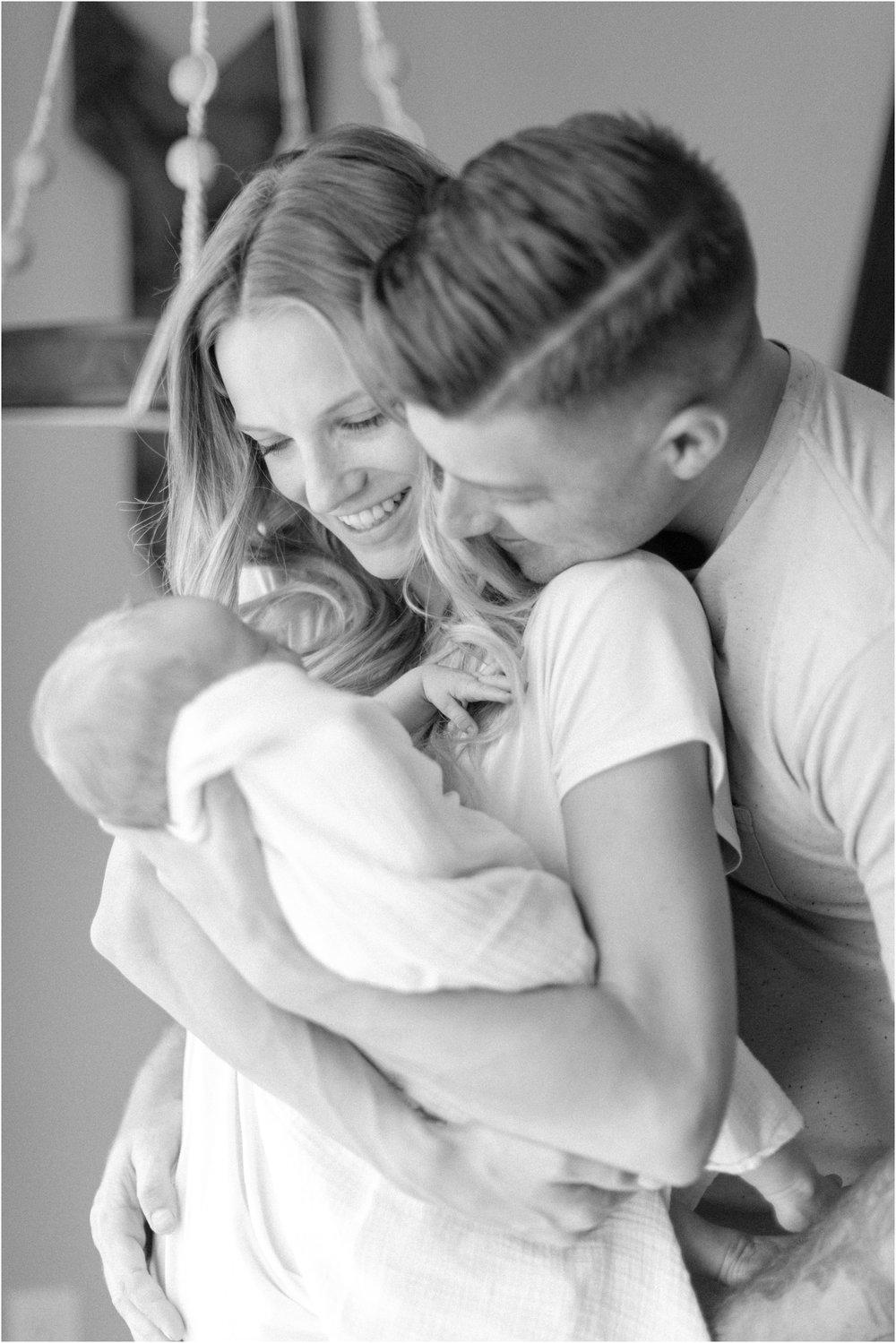 San Clemente Lifestyle Newborn Photography