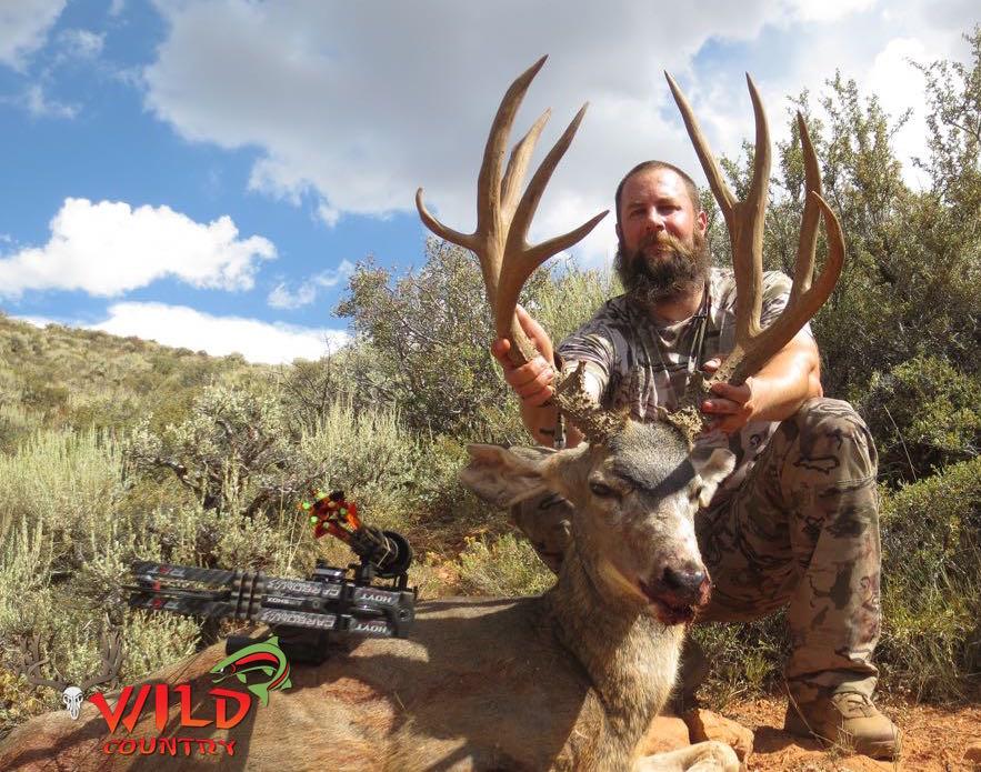 Utah mule deer hunt Archery Koby UA.jpg