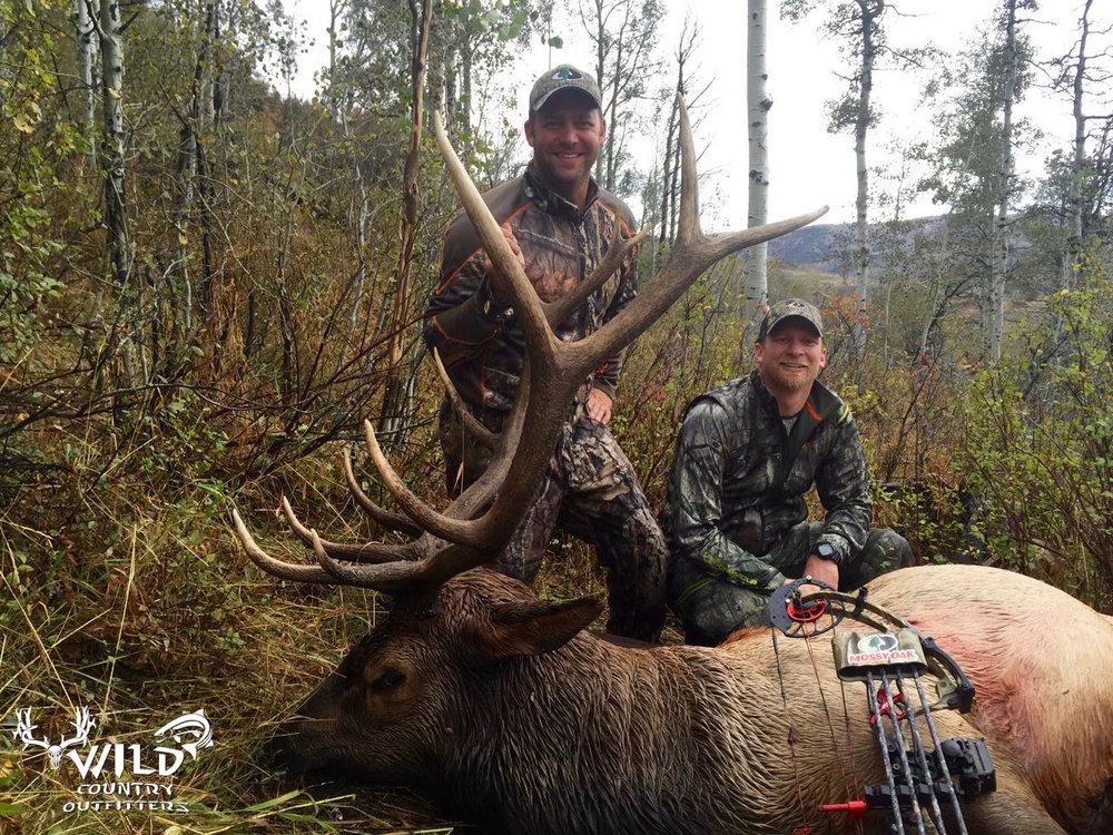 Ben maki mossy oak 2015 utah bull elk archery hunt.jpg