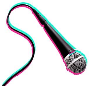 mic-cord(pink-teal)