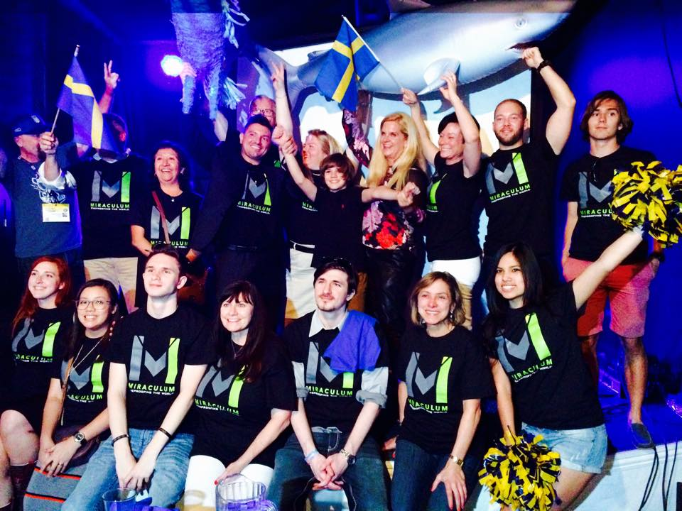 """As the Founder/CEO and Chief Innovator of Miraculum, Dr Ann-Christine is celebrating a victory of """"best Nordic startup in the US"""" at the SXSW Nordic Pitch Battle 2016. Driving innovation to market is part of Langselius' core expertise."""