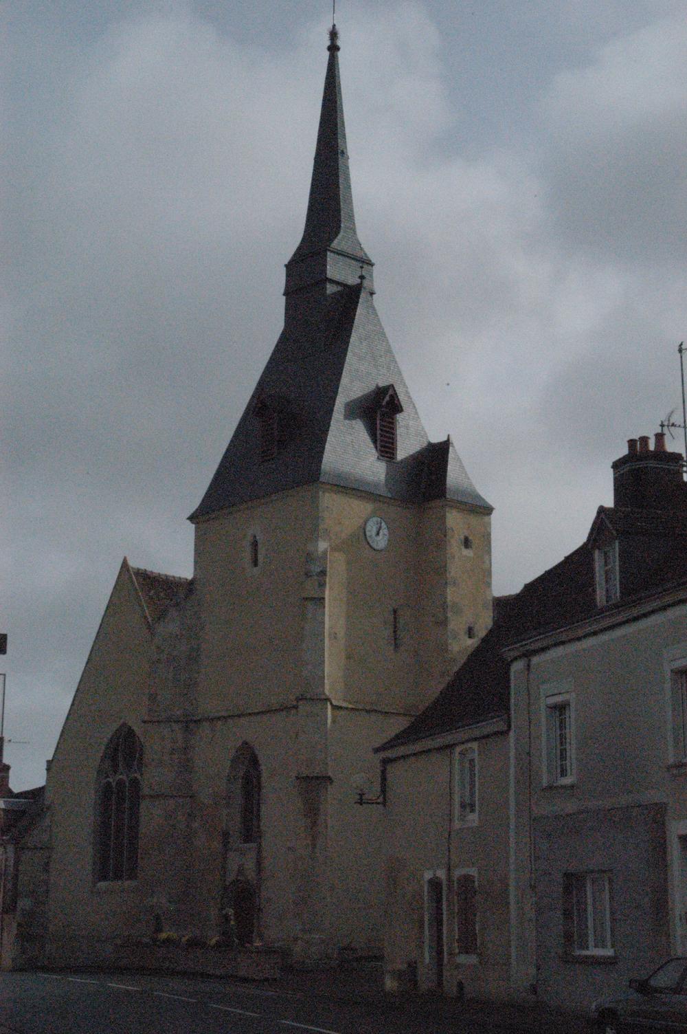 L' église de Saint-Cosme-en-Vairais