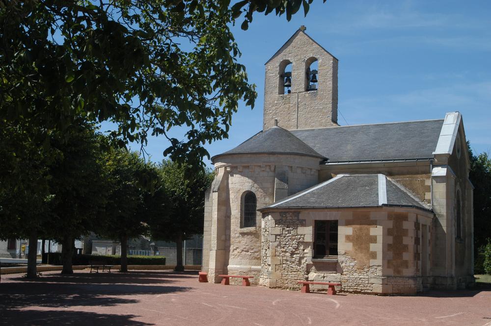 L'église d'Aulnay