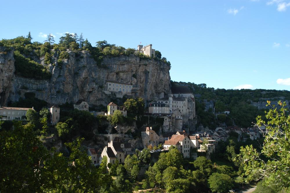 Vue d'ensemble de Rocamadour