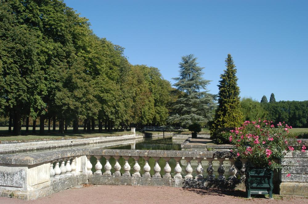 le parc de l'ancien château