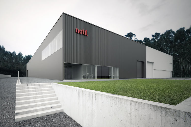 Notil, Pavilhão Industrial