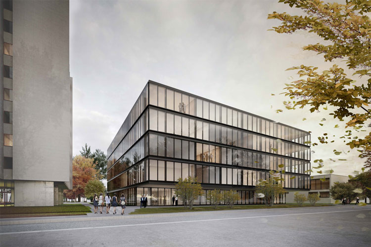 Escola Superior de Saúde em Luzern | com André Campos e Brandenberger Kloter Arch.
