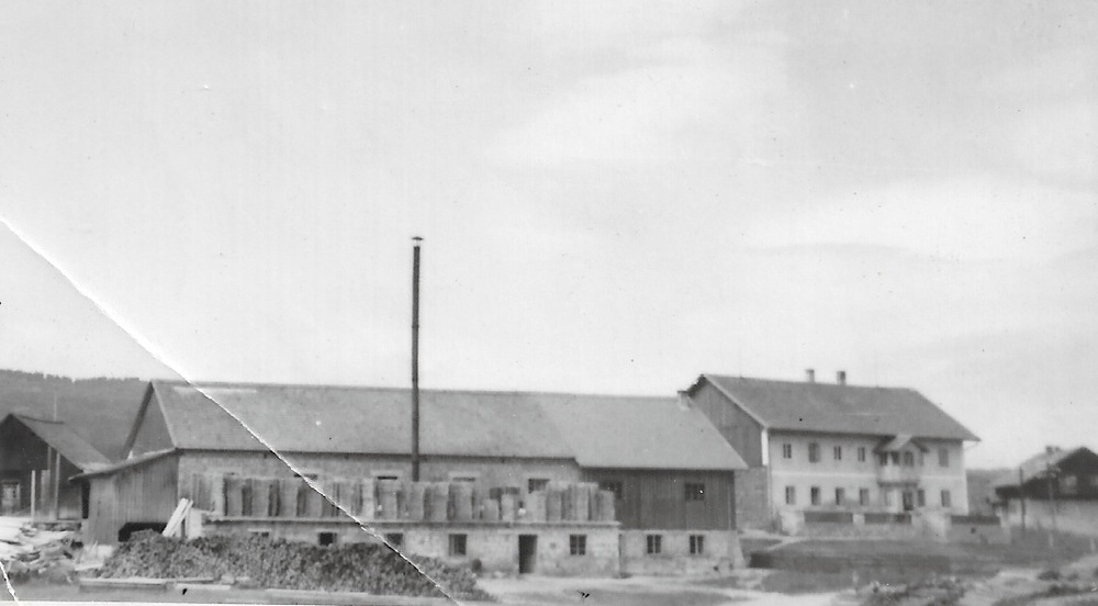 My Great Grandfather's Saw Mill in Germany. (Circa 1900)