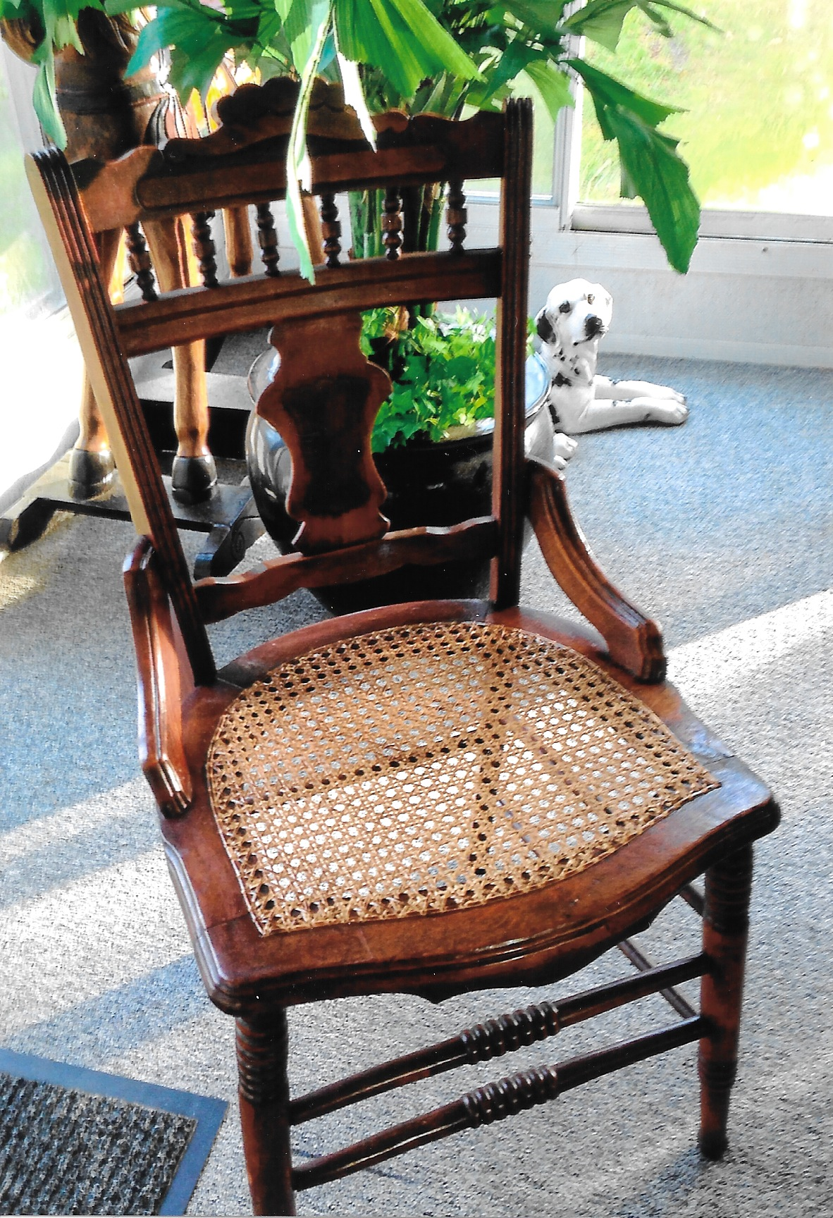 Chair Caning Reupholstery and Repair — Old World Furniture
