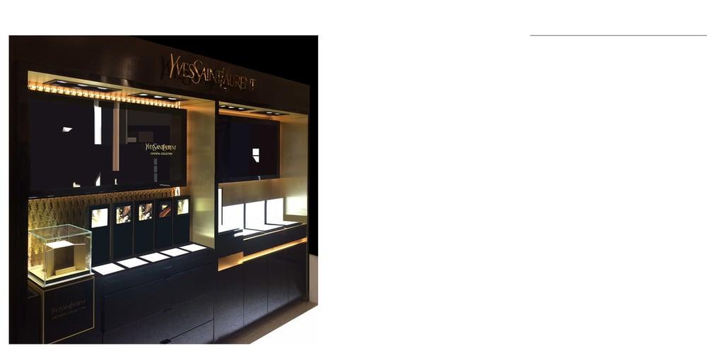 YSL, Head Of Store Design, 2013-2015