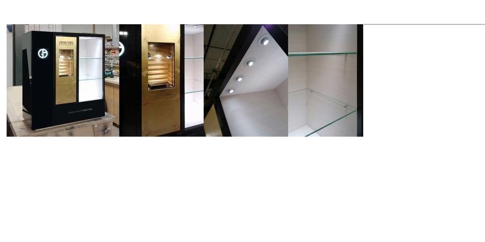Armani, Head Of Store Design, 2013-2015