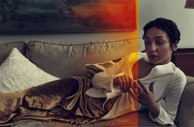 #RuthNegga wearing FW17 in #THEEDIT Photography by #NormanJeanRoy Styling by @ttstyle Available on @netaporter link in bio 👀