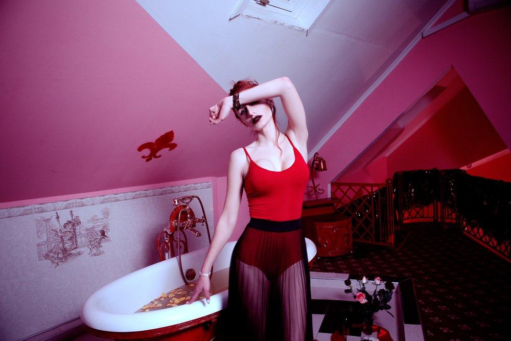 Photo credit  https://www.pexels.com/photo/adult-attic-bathroom-bathtub-415491/