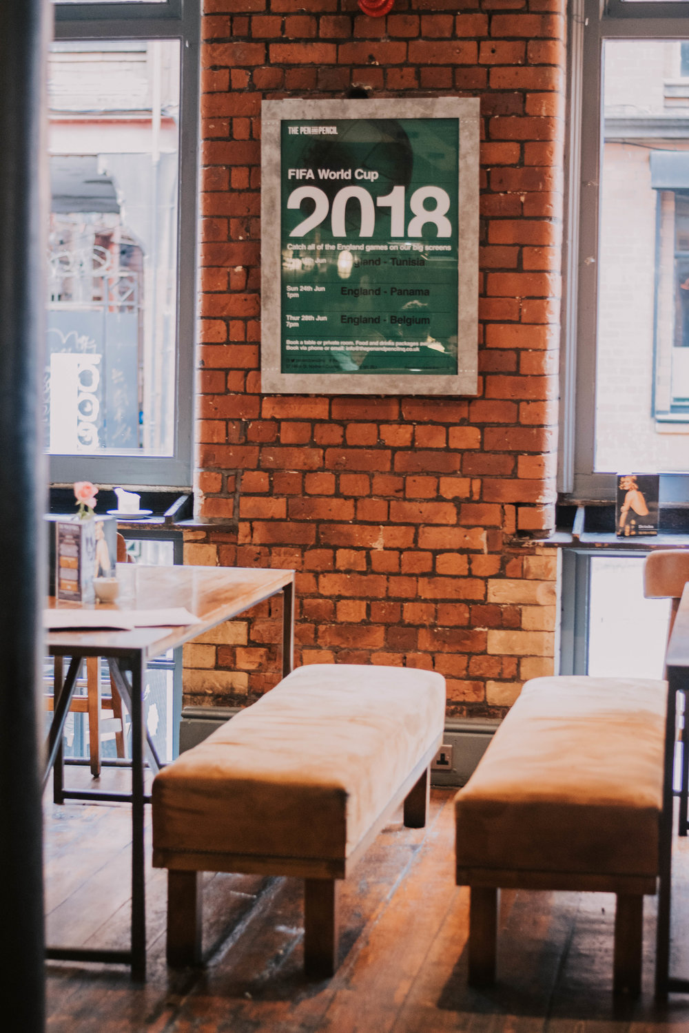 brunch at pen and pencil northern quarter. life of ellie grace. manchester, uk beauty and style blog. manchester blog. uk beauty blog. uk lifestyle blog. manchester lifestyle blog.