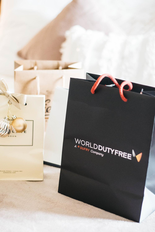 world duty free beauty haul