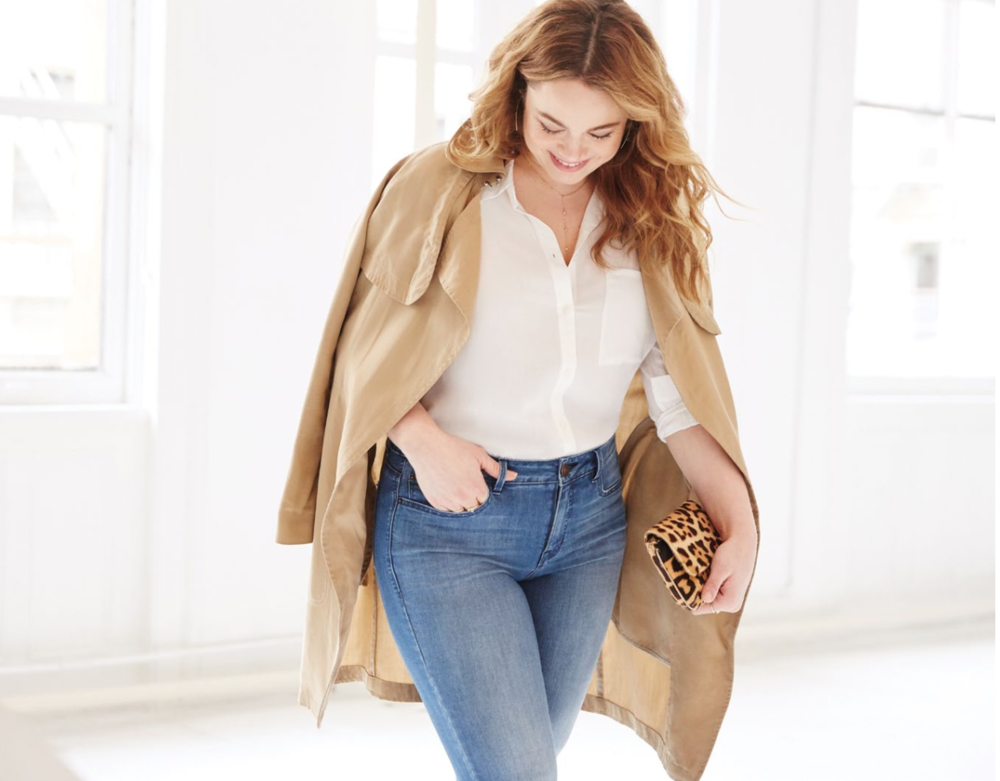 Size isn't the only factor a woman must consider when searching for the perfect pair of jeans.Her individual shape and proportions— the natural curve of her body— all go into the mix. -
