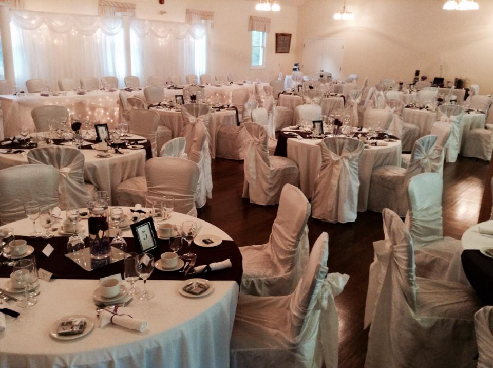 Chair Covers and Linens