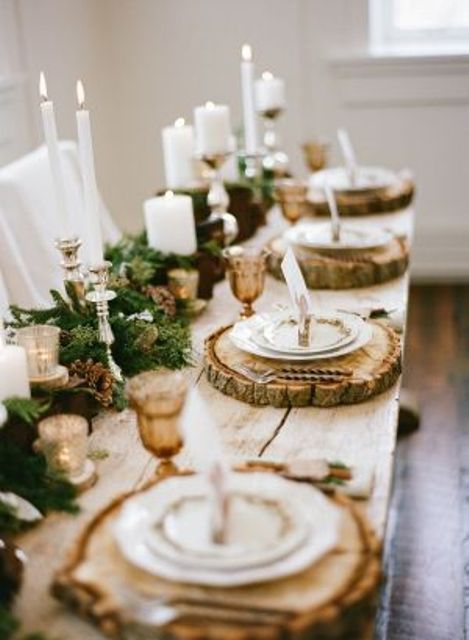 Image from Happy Wedd: http://happywedd.com/wedding_theme/45-cozy-rustic-winter-wedding-ideas.html