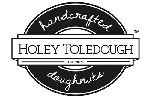 Holey Toledough Handcrafted doughnuts logo