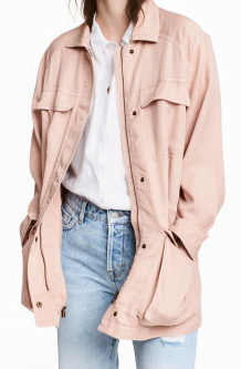 Love the pink take on this classic piece!