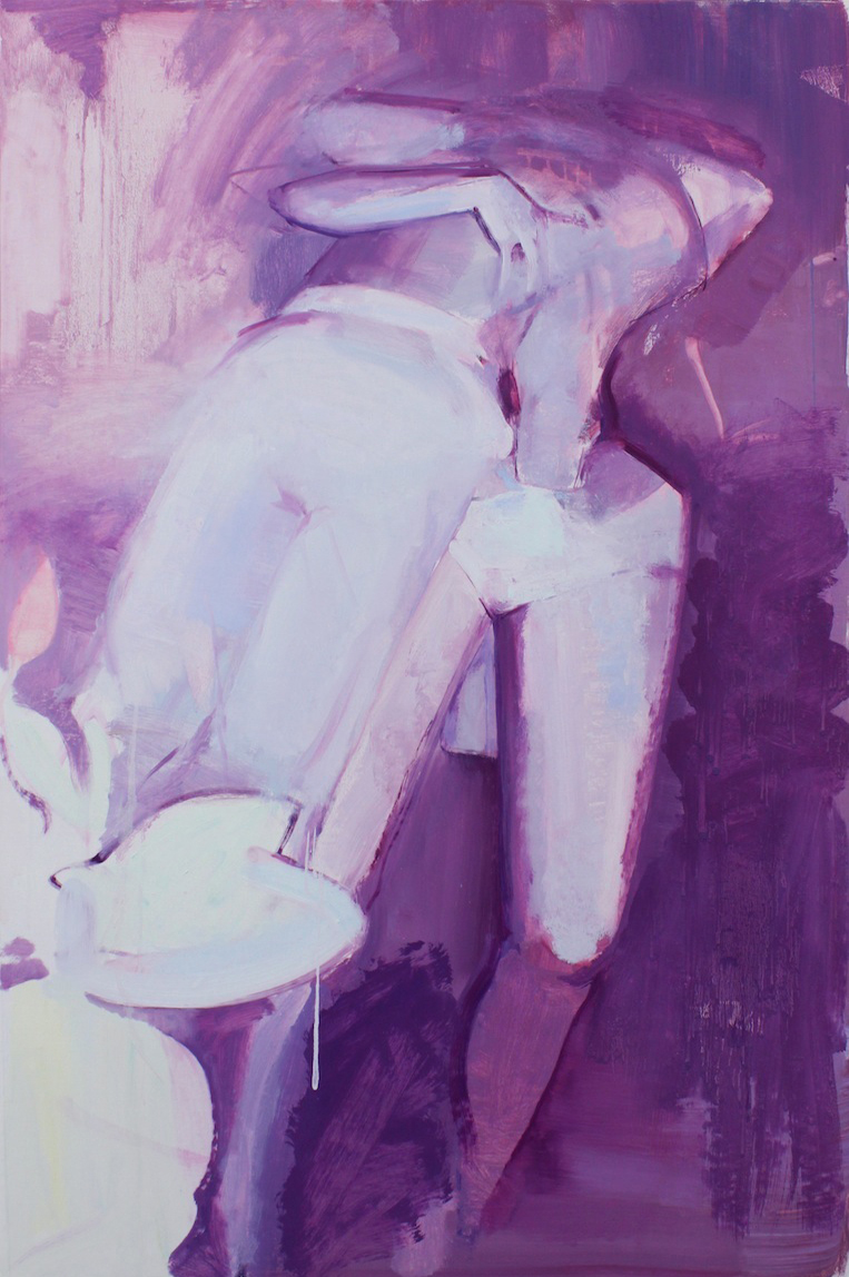 Romance,  2013, Oil on linen, 40 x 66 in