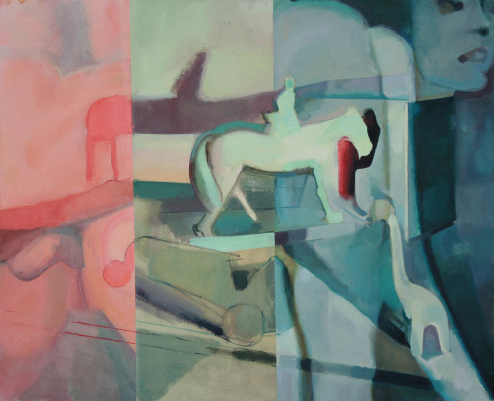 Horses , 2011, Oil on canvas, 36 x 42 in