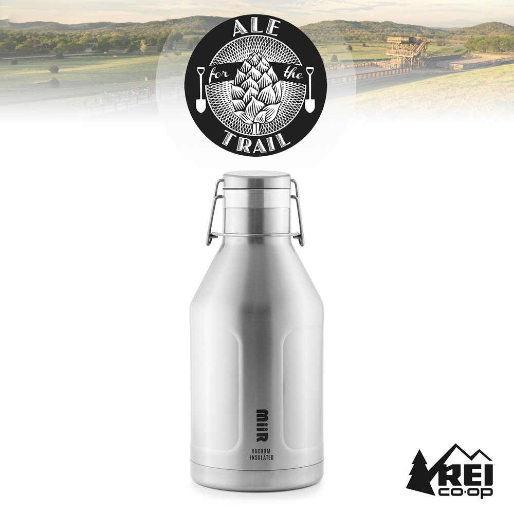 REI MIIR 64oz Growler & 1 Free Fill