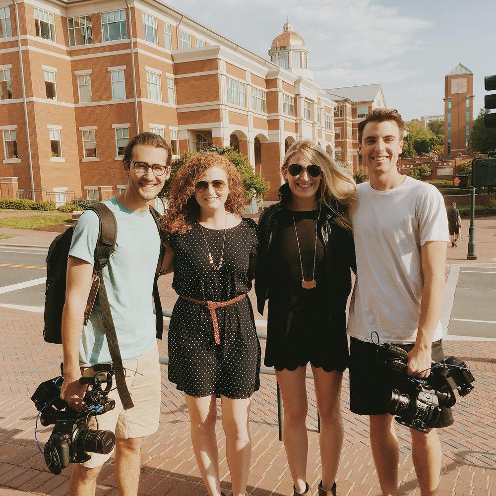 MTV college campus behind the scenes woodwalk film crew