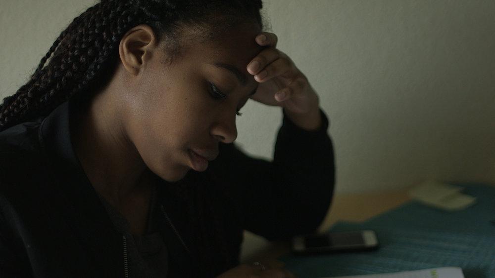 black female college student mtv woodwalk documentary