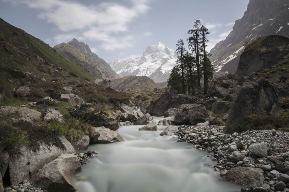 We walked to this scenic place called Har Ki Dun at the end of our trek. Har Ki Dun means 'Valley of the Gods.'