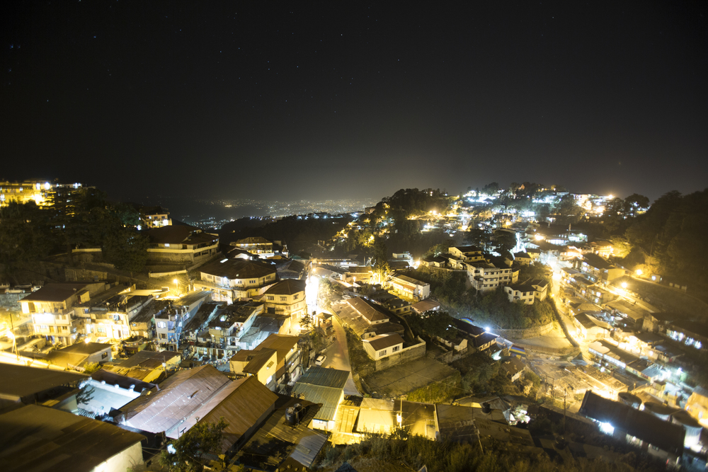 This photograph really captures what Mussoorie looks like. It is home to 26,000 people and is a bustling, active city.