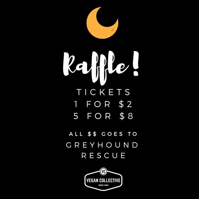 Want to win a prize filled with goodies donated from EVERY STALL at Farewell Winter on Monday?! AAAAAND raise $$ for @greyhoundrescue?! THEN BUY TICKETS YO!