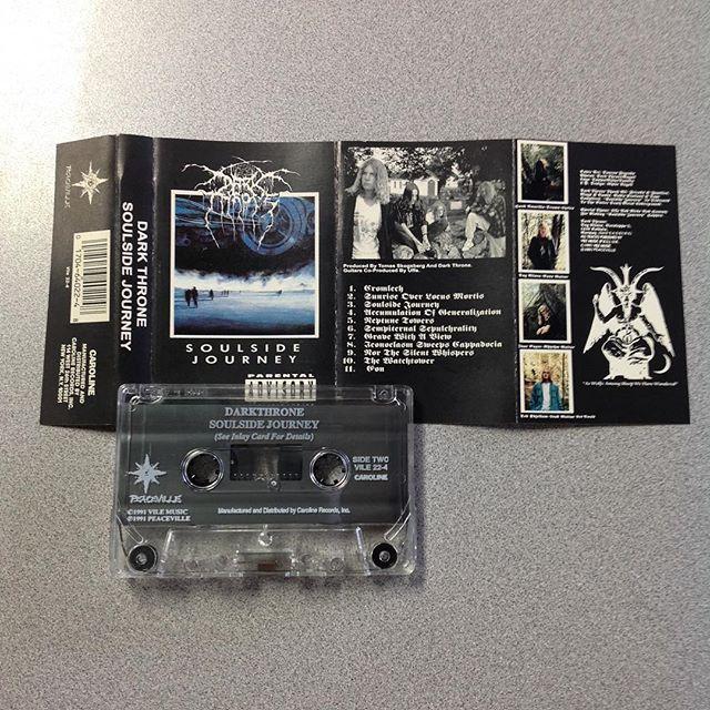 Darkthrone's legendary debut album!!! #Darkthrone  #DeathMetal #BlackMetal #NorwegianBlackMetal #PeacevilleRecords #BornLateRecordsAndTattoos