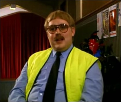 Keith Lard, fire safety officer.