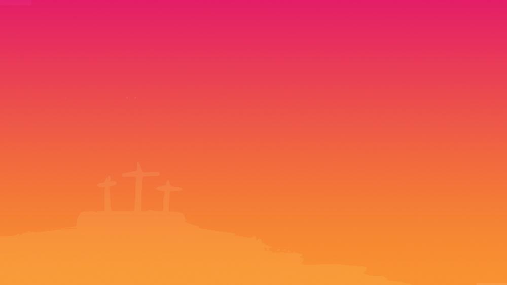 Gradient color w/ cross