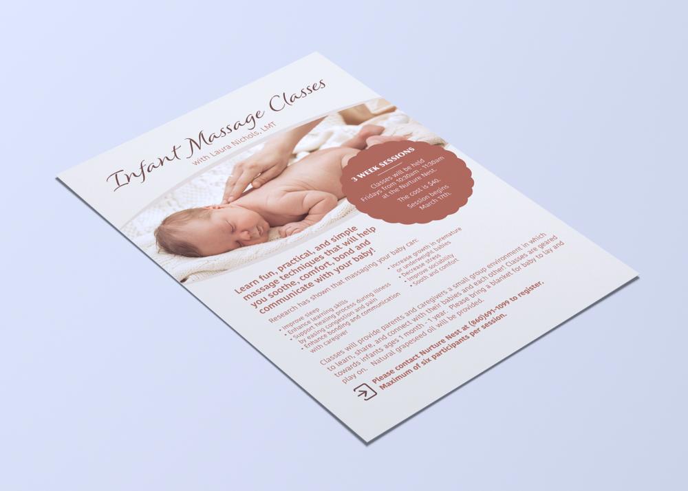 Infant Massage Poster