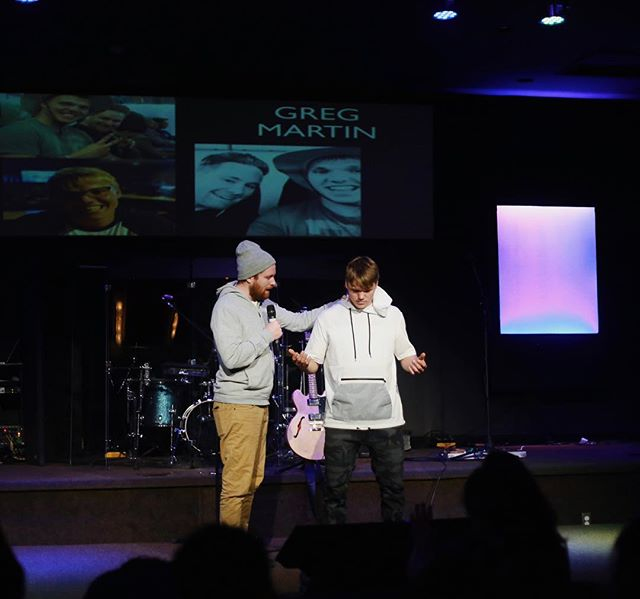 the baton has been passed! We are all so excited for what's to come with our new Youth Pastor @g.r.e.gmartin