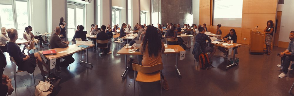 Path 2 Cash 2017 in Session at Mills College.