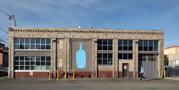 The Blue Bottle Roastery on Webster Street in Oakland.