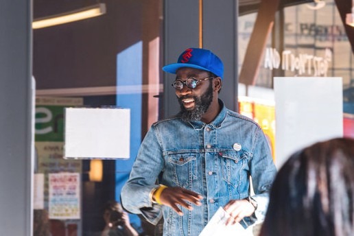 Baba Afolabi and his African food delivery company, Chop Plentii, were written up in the  SF Chronicle.