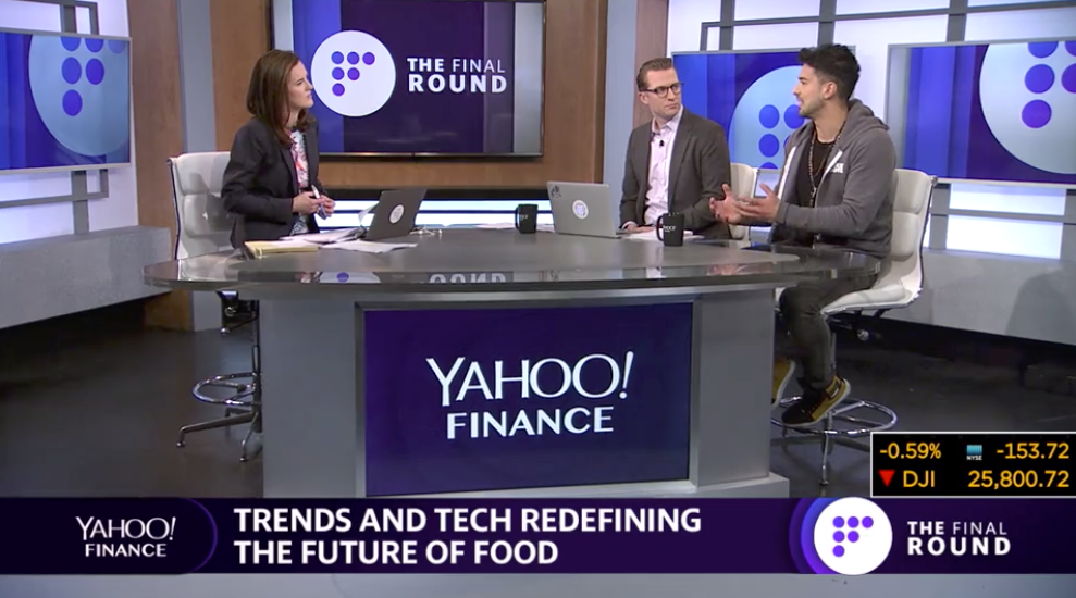 Alejandro Velez, co-founder of Back to the Roots on Yahoo! Finance's Final Round TV show.