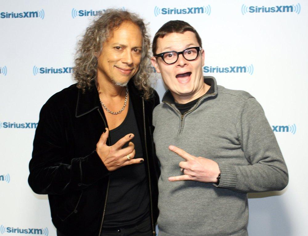 Guest Kirk Hammett