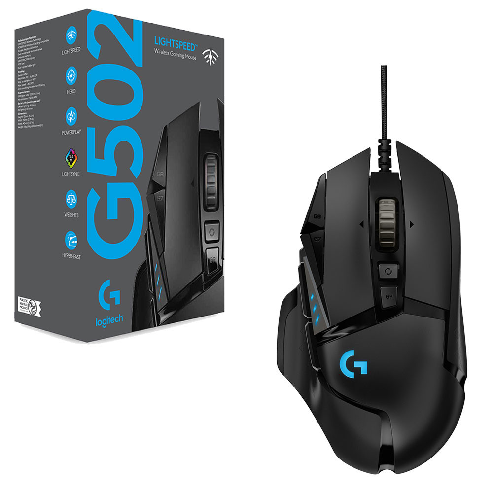 Logitech G502 Lightspeed Wireless Gaming Mouse Taking Your
